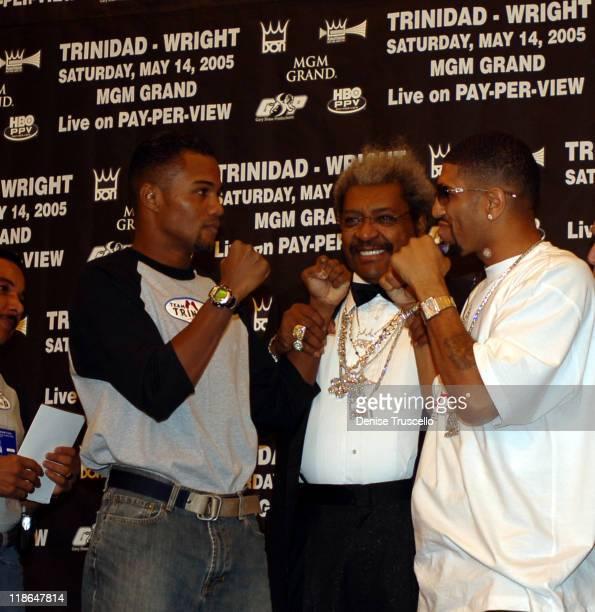 Papa Trinidad Felix Tito Trinidad Don King Winky Wright
