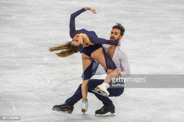 Papadakis Gabriella and Cizeron Guillaume of France competing in free dance at Gangneung Ice Arena Gangneung South Korea on February 20 2018