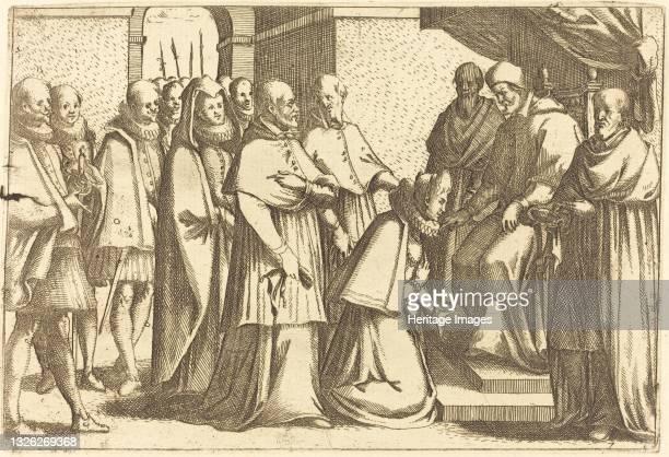 Papal Audience, 1612. Artist Jacques Callot.
