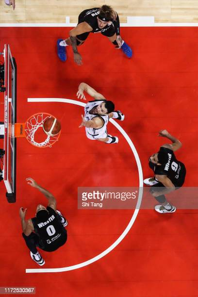 Papanikolaou Kostas of Greece in action during 1st round Group F match between Greece and New Zealand of 2019 FIBA World Cup at Nanjing Youth Olympic...