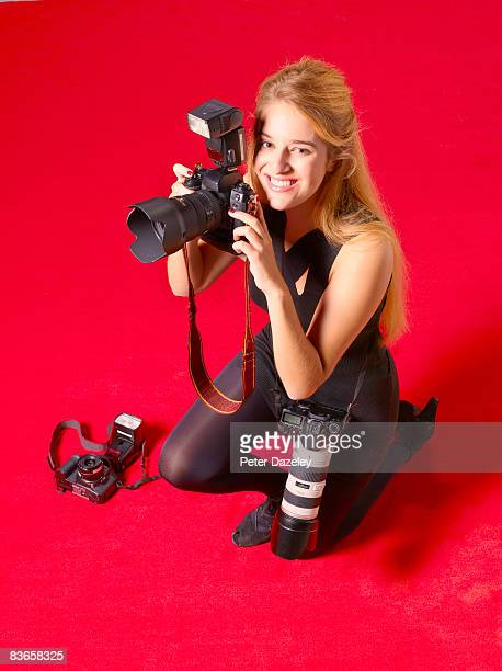 paparazzi on red carpet - celebrity stockings stock pictures, royalty-free photos & images
