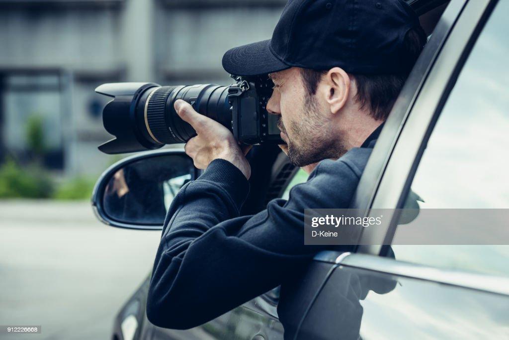Paparazzi : Stock Photo