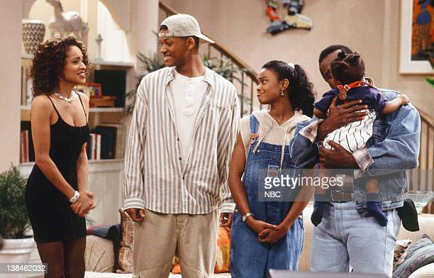 AIR THE 'Papa's Got a Brand New Excuse' Episode 24 Pictured Karyn Parsons as Hilary Banks Will Smith as William 'Will' Smith Tatyana Ali as Ashley...