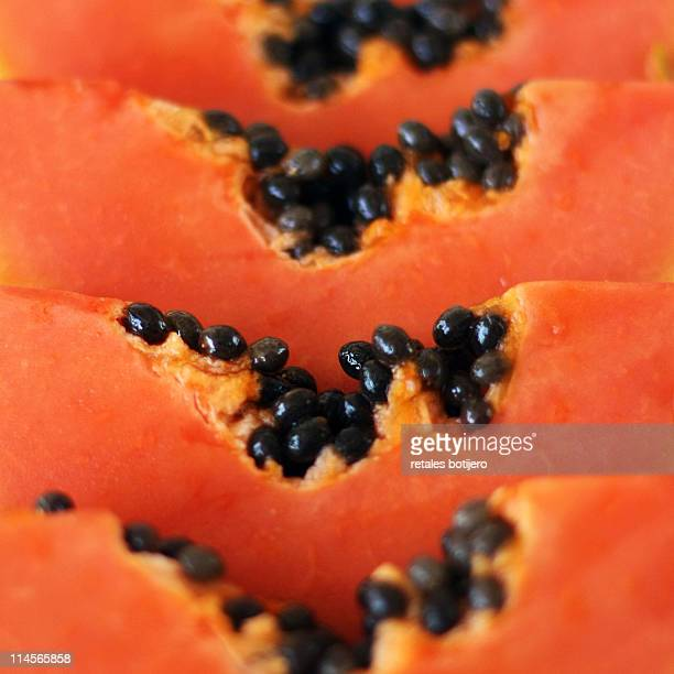 papaya - papaya stock photos and pictures