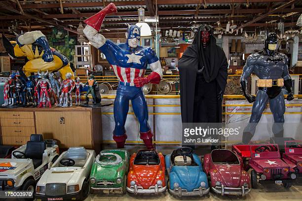 Papaya Vintage Store Bangkok, Action Figures - Papaya Vintage is like no other shop you have even seen - a warehouse in the Lat Phrao area of Bangkok...