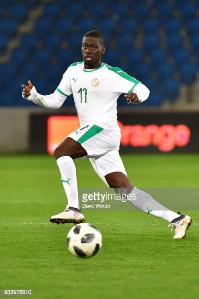 Pape Alioune N'Diaye of Senegal during the international friendly match match between Senegal and Bosnia Herzegovina on March 27 2018 in Le Havre...