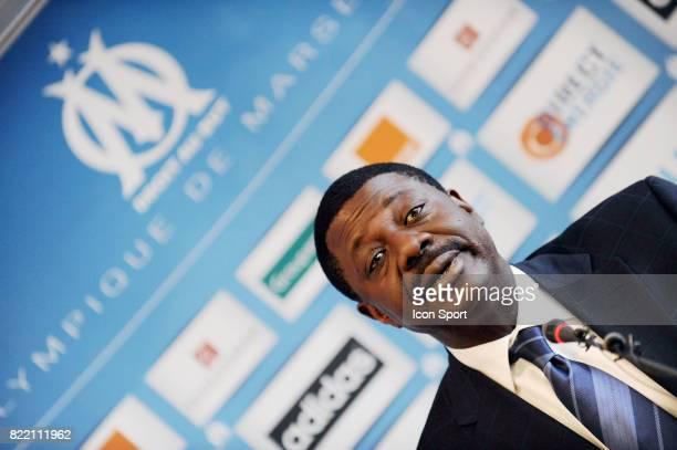 Pape DIOUF Presentation de SAMASSA a Marseille Ligue 1 2008/2009