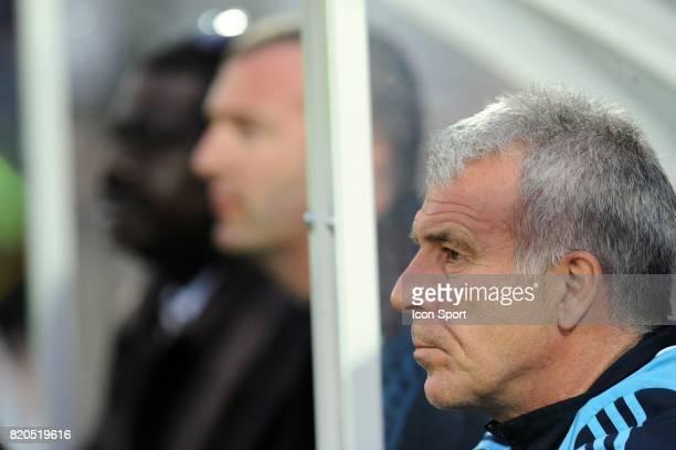 Pape DIOUF / Eric GERETS Lille / Marseille 33eme journee de Ligue 1 Stadium Nord Villeneuve d'Ascq Lille