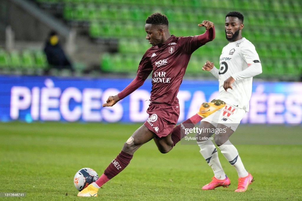 FC Metz v Lille OSC - Ligue 1 : News Photo