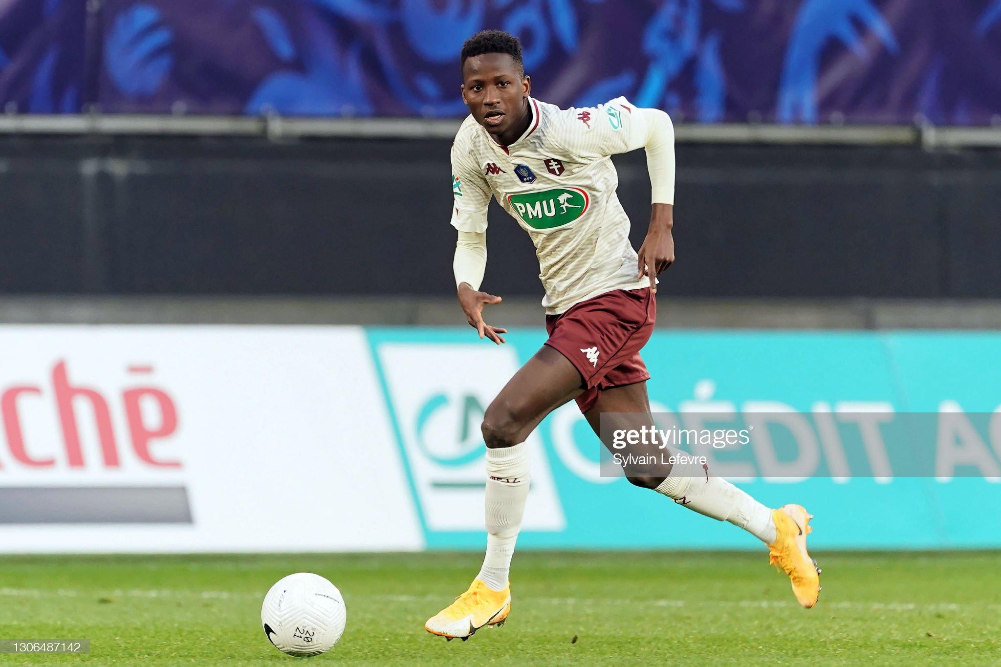 Valenciennes FC vs Metz FC - Coupe de France, Round of 32 : ニュース写真