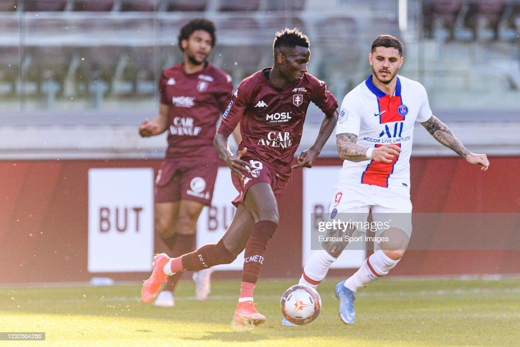 FC Metz v Paris Saint-Germain - Ligue 1 Uber Eats : ニュース写真