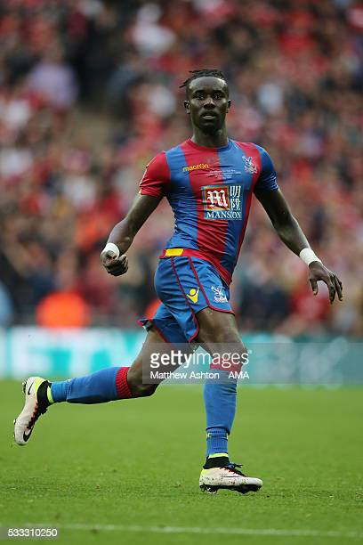 Pape N'Diaye Souare of Crystal Palace during The Emirates FA Cup final match between Manchester United and Crystal Palace at Wembley Stadium on May...
