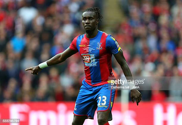 Pape Souare of Crystal Palace during The Emirates FA Cup final match between Manchester United and Crystal Palace at Wembley Stadium on May 21 2016...