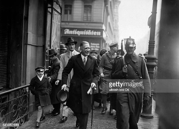 Papen, Franz von - Politician, diplomat, Germany*29.10.1879-+Third Reich , Reichstag elections : Vice-chancellor Franz von Papen after the elections...