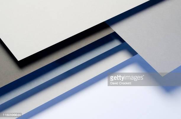 paper abstract - couches superposées photos et images de collection