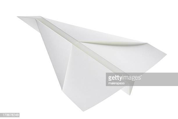 Paper airplane stock photos and pictures getty images paper airplane malvernweather Images