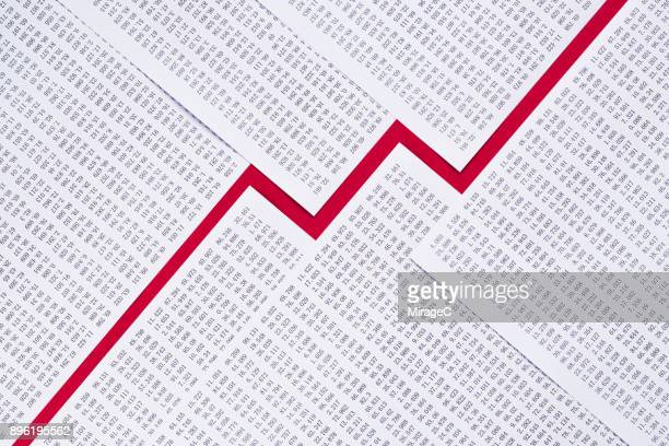 Paper and Data Composing Line Graph