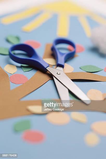 Paper Art and Scissors