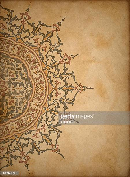paper background (turkish & islamic) - ottoman empire stock pictures, royalty-free photos & images