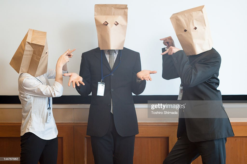 Paper bag : Stock Photo
