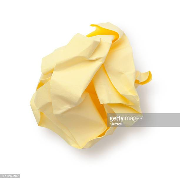 Paper Ball Sticky Note.