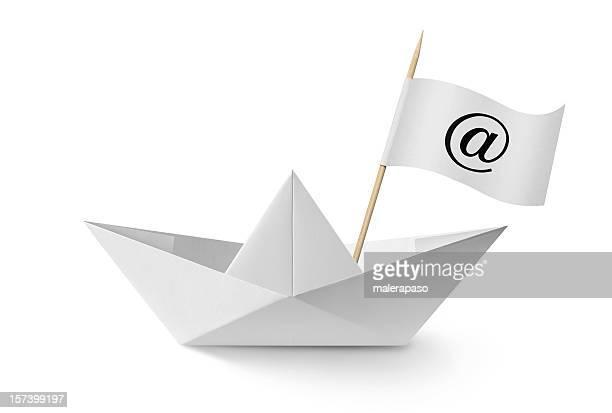 """Paper boat """"@"""""""