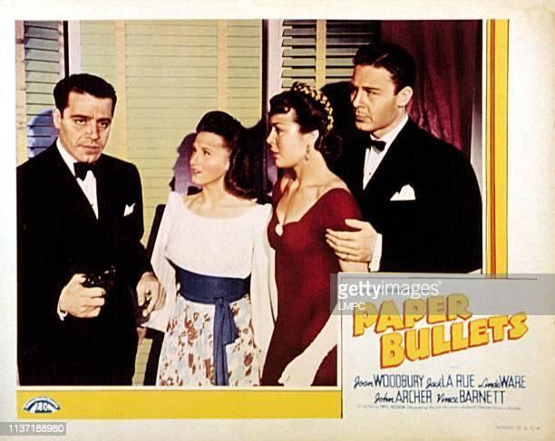Paper Bullets [aka Gangs lobbycard INC CRIME INC] Jack LaRue Linda Ware Joan Woodbury John Archer 1941
