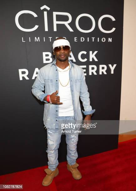 Paper Cha$e attends the ZEUS New Series Premiere Party X CIROC Black Raspberry on October 19 2018 in Burbank California