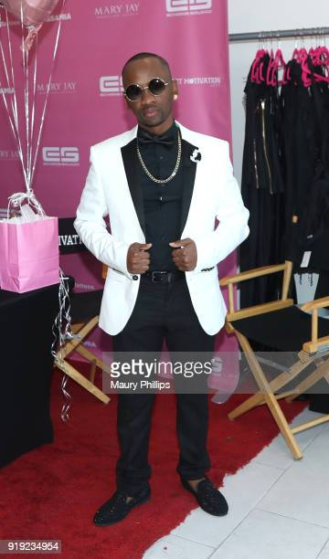 Paper Chase attend Rosa Acosta's Cover Release Party during AllStar Weekend on February 16 2018 in Los Angeles California