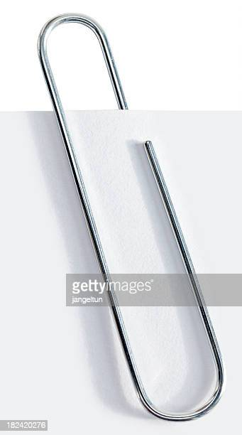 paper clip - paper clips stock photos and pictures