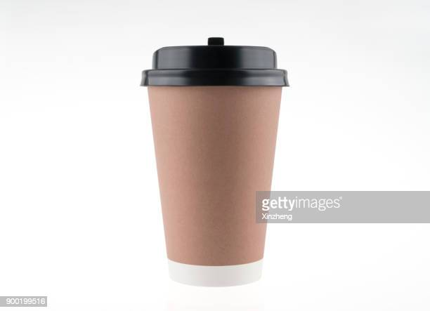 paper coffee cup - disposable cup stock pictures, royalty-free photos & images