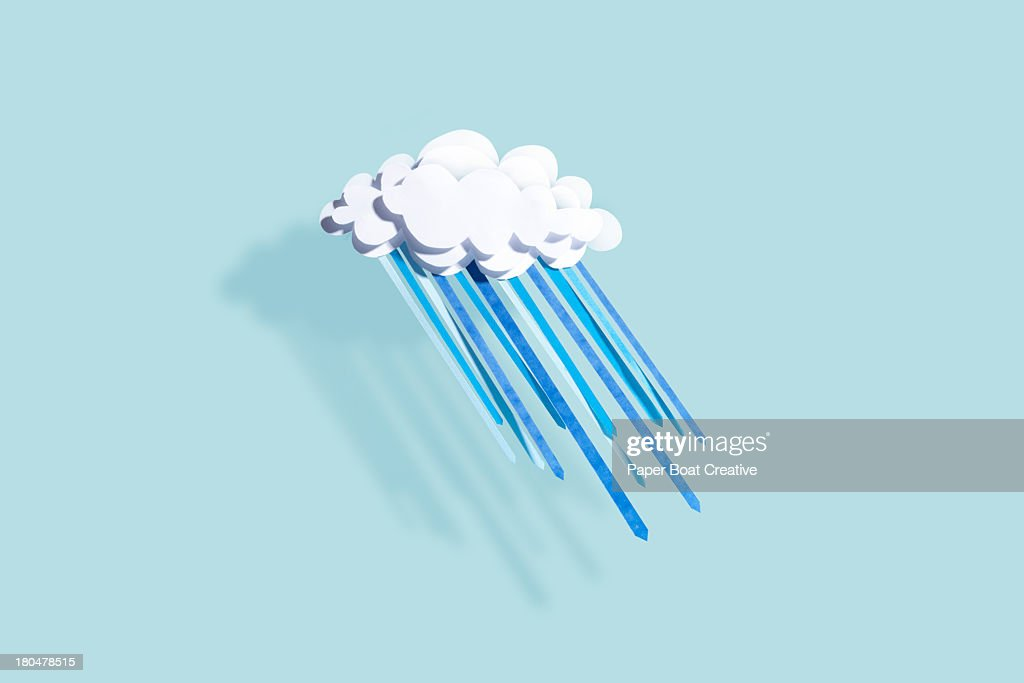 Paper Craft Weather : Stock Photo