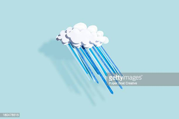 paper craft weather - meteorology stock pictures, royalty-free photos & images