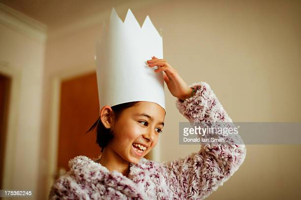 paper crown - art and craft stock pictures, royalty-free photos & images