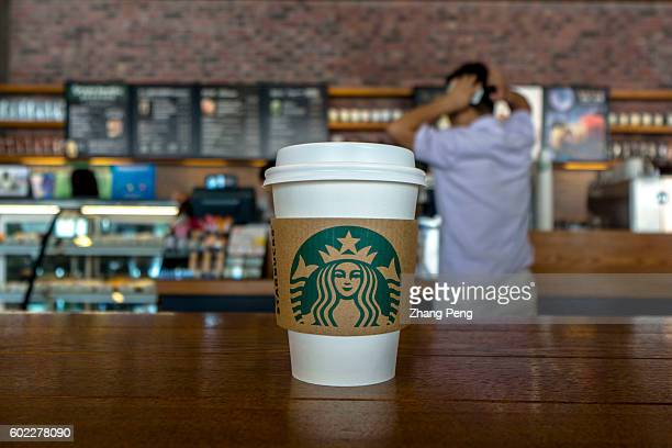 Paper cup in a Starbucks coffee shop During the third quarter 2016 Starbucks China had $7682 million in sales a growth of 17% compared to the prior...