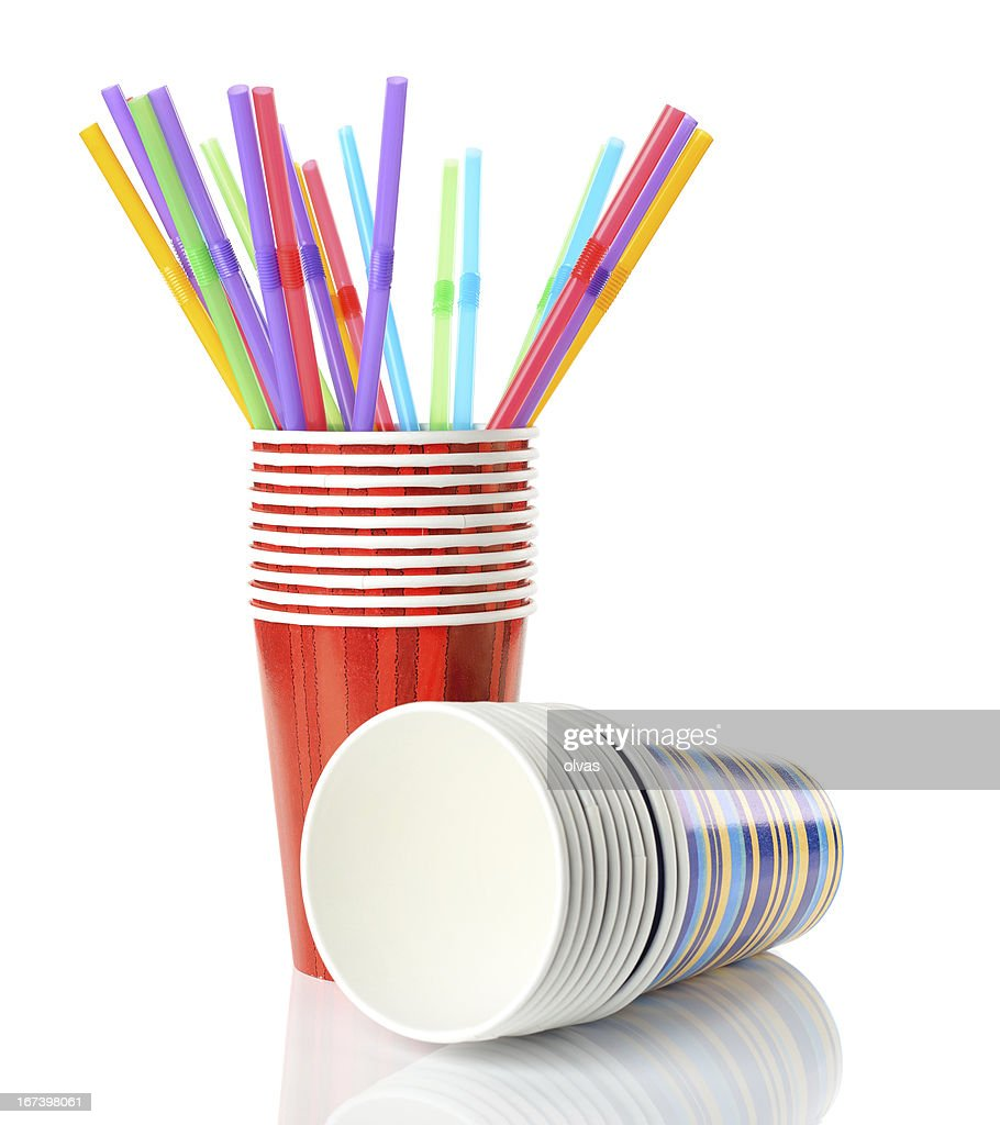 paper cups : Stock Photo