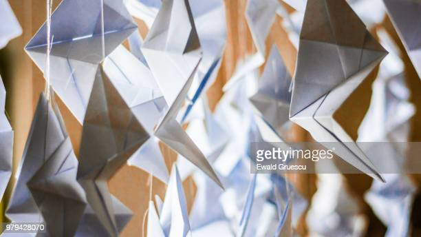 paper cuts - patriotic christmas stock pictures, royalty-free photos & images