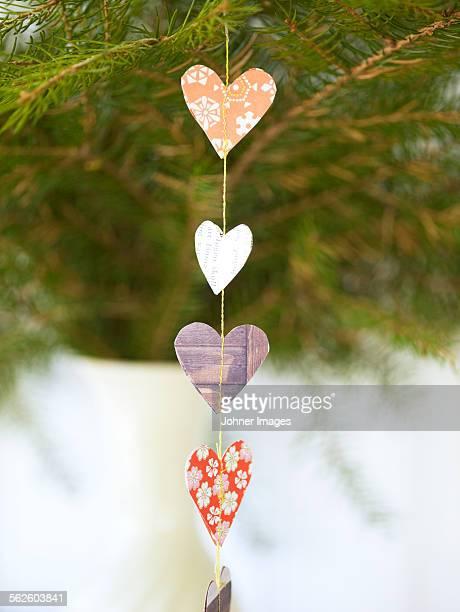 Paper decoration, close-up