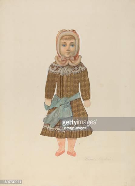 Paper Doll, circa 1937. Artist Beverly Chichester.