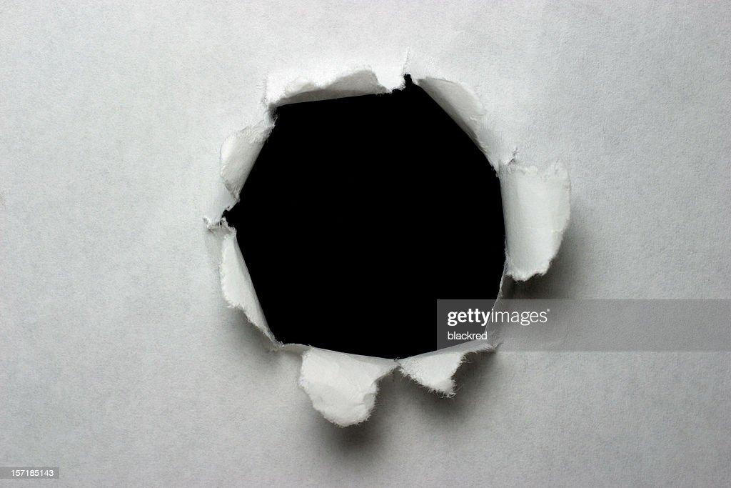 Explosão de Papel : Foto de stock