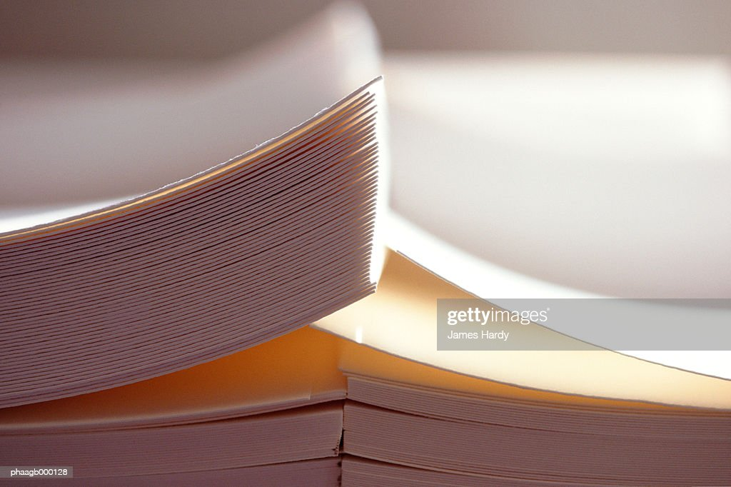 Paper, extreme close-up : Stockfoto