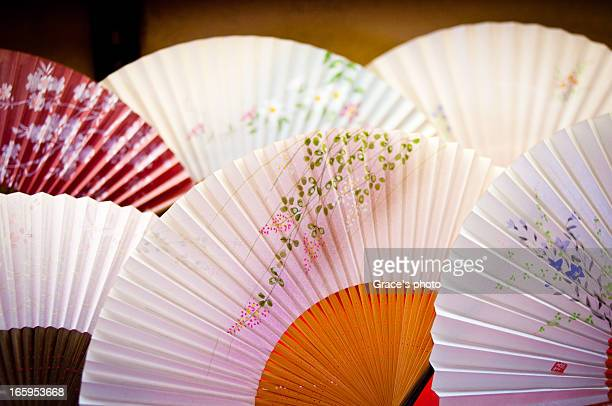 Paper fan of Kyoto