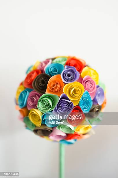 Origami Rose Stock Photos And Pictures