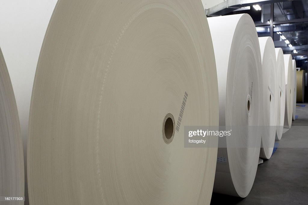 Paper for the Press : Stock Photo
