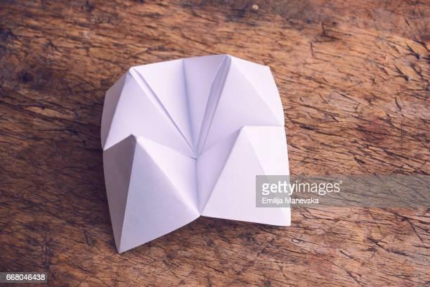 Paper fortune teller
