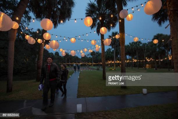 Paper Lanterns at Brookgreen Gardens