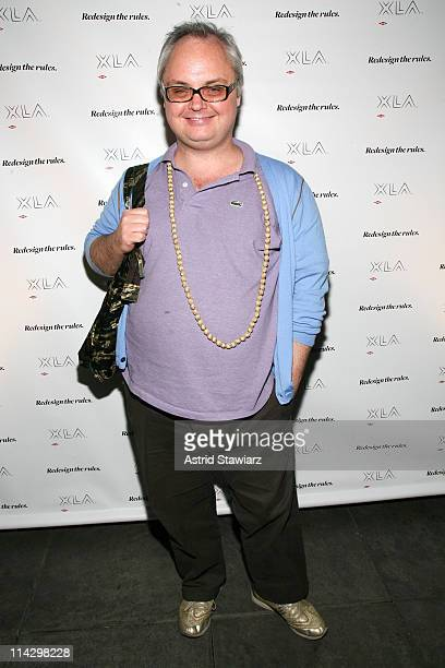 Paper Magazine editor Mickey Boardman attends the launch of the DOW XLA FW08 Campaign at High Bar Penthouse on September 16 2008 in New York City