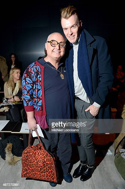 Paper Magazine Editorial Director Mickey Boardman and Senior vice president fashion director of Neiman Marcus Ken Downing attend Creatures Of The...