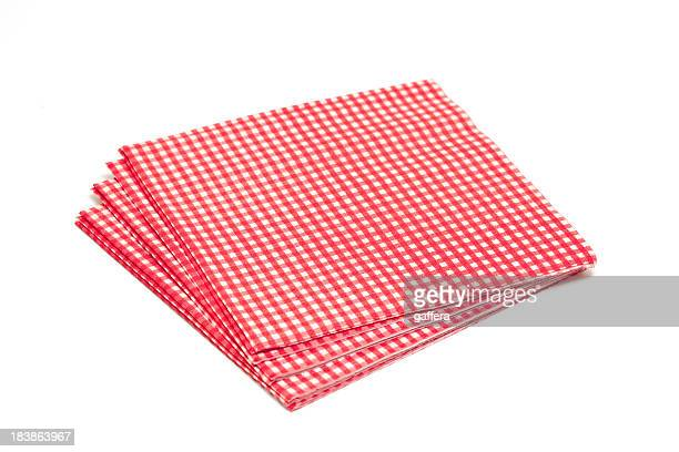 paper napkins - napkin stock pictures, royalty-free photos & images
