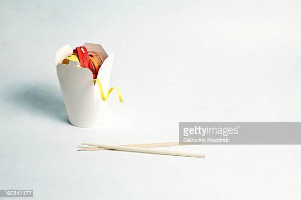 paper noodles